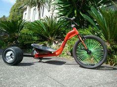 big wheel, bicycl, magazin, drift trikes, trike drift, sweet bike