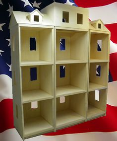 """A work in progress. We make Custom Doll Houses for American Girl-Style Dolls and all 18"""" Dolls."""