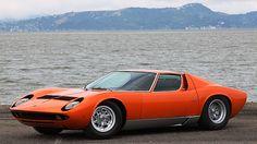 1969 Lamborghini Miura P400 S S/N 4289, Engine No. 30414 presented as lot R332 at Monterey, CA 2015 - image3