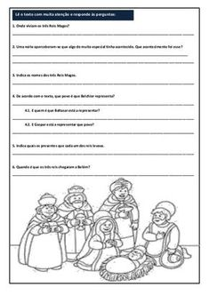 Leitura e interpretação tres reis magos Bullying, Diagram, Blog, Gabriel, Education, Christmas, Preschool Literacy Activities, Reading Activities, Kid Activities