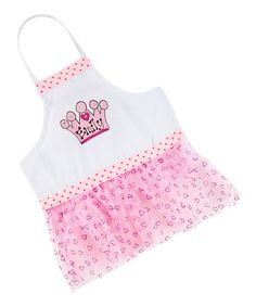 Look at this Pink Crown Personalized Tutu Apron Pink Crown, Christmas Aprons, Girly Things, Tutu, That Look, Sewing Ideas, Kids, Baby, Fashion
