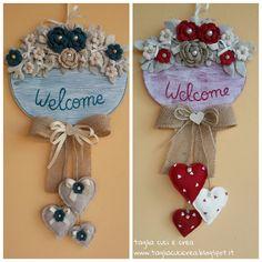 tagli cuci crea con stoffa e feltro Sheep Crafts, Jute Crafts, Easy Diy Crafts, Diy Arts And Crafts, Handmade Crafts, Diy Crafts For Teen Girls, Crafts For Teens To Make, Rock Crafts, Craft Stick Crafts