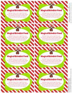 reindeer food - page 1 of 2