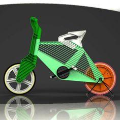 fiets van plastic