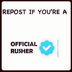 Please repost I want btr to perform again if u repost it will give me hope and let me know that there are still rushers out there.  Also if u are a rusher comment below and I might follow u