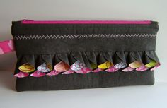clutch with sweet detail