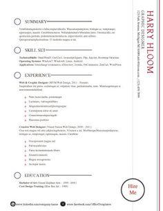 International Resume Format Free Download  Resume Format  Cv