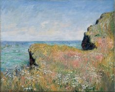 Claude Monet (1840–1926), Edge of the Cliff at Pourville, 1882.oil on canvas, 60 × 73 cm