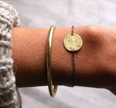 bangle + simple bracelet