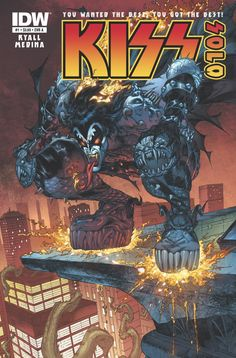 Comics Crux- KISS Continues Their Reign At IDW With New Solo Series