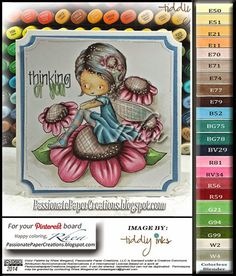 Passionate Paper Creations: Fairy Blessing - Tiddly Inks