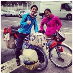 e9c7f34e6ff This couple has been biking around the world for five years and 60,000 miles