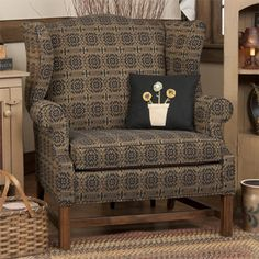 Grandmothers Wingback Chair