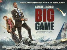 Big Game Movie Poster 2 Film Big Big Game Action Adventure