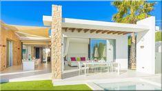 modern építészet, ház szépítészet - Szép házak, lakások, 9 Villa, Provence, Pergola, Outdoor Structures, House, Sign, Home, Outdoor Pergola, Signs