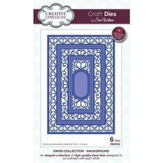 Sue Wilson Swiss Collection Background Die Set by Creative Expressions