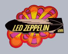 1970s LED ZEPPELIN I Record Store Display hanging double sided mobile