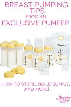 Looking for breast pumping tips? The VMW is an exclusive pumper and has tons of great tips and tricks to keep up your supply!