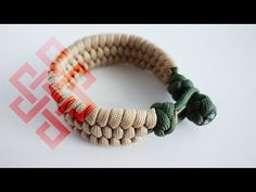 How to Make a Knot and Loop Slim Trilobite Paracord Bracelet Tutorial - YouTube