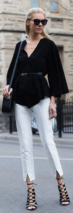 Monochromatic / Fashion By The Trend Spotter