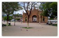 Plaza de Armas en Chiapa de Corzo