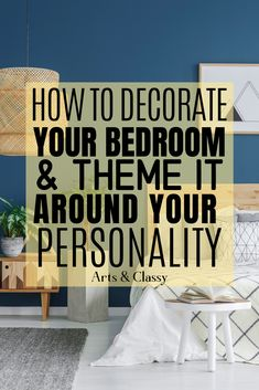 Tips on how to decorate your bedroom to reflect your personality on a budget! bedroom makeover on a budget Bedroom Ideas For Small Rooms Diy, Small Space Bedroom, Budget Bedroom, Bedroom Themes, Cheap Diy Headboard, Interior Blogs, Master Bedroom Makeover, Gray Bedroom, Decorating On A Budget