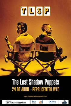 The last shadow puppets 24 de abril