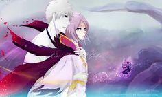 Dark Rukia and Dark Ichigo