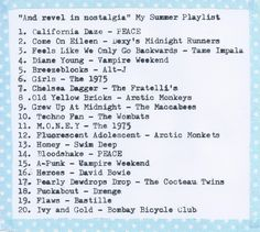 The type-writered post: What I'm listening to this Summer: http://www.laurynsnotebook.com/2014/07/summerplaylist-typewriter-music.html