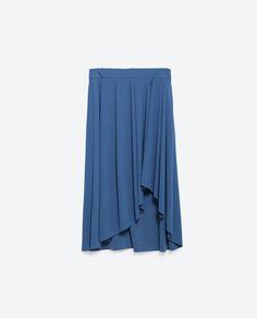 Image 8 of FLARED SKIRT from Zara