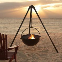 Cowboy Cauldron fire pit...for the back yard.