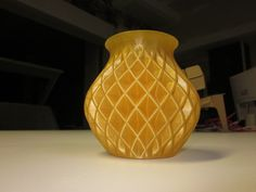 Double Twisted Vase by FabLabMaastricht  http://thingiverse.com/thing:37327