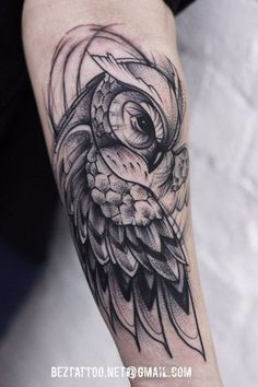 Tattoo for guys owl awesome 54 Ideas - - Leg Tattoos, Black Tattoos, Body Art Tattoos, Sleeve Tattoos, Tattos, Baby Owl Tattoos, Fish Tattoos, Owl Tattoo Drawings, Tattoo Sketches
