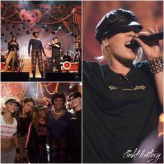 On This Day in #PinkHistory 26th February 2002 @Pink rehearsed the performance of Lady Marmalade for the Grammy Awards