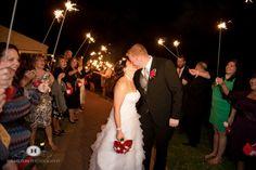 Silver Swan Wedding  Blog-Wedding Savvy Inc. Bride and Groom sparkler exit
