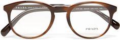 Prada Round-Frame Acetate Optical Glasses