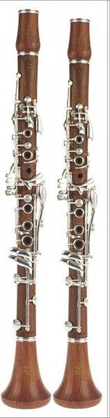 Clarinetes clarinete em lá madeira  by Devon & Burgani