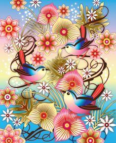 Catalina Estrada - Blue Birds