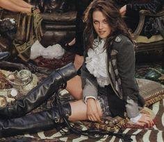 Kristen Stewart closeup from Instyle magazine, 2008 Kristen Stewart, Estilo Beyonce, Actrices Sexy, Celebs, Celebrities, Best Actress, Celebrity Crush, American Actress, Hollywood