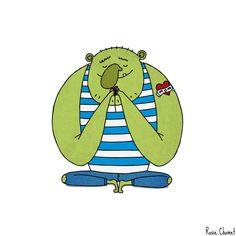 The Sensitive Ogre   Illustration by Rosie Chomet