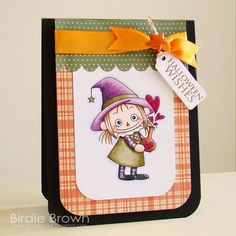 Digital stamp  Witch Doll 02 by BirdieBrown on Etsy