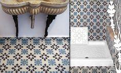 Simple cement tiles floor #mosaicdelsur #cementtiles