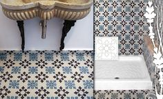 Simple cement tiles floor #mosaicdelsur #cementtiles