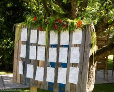 A Wilde Bunch Rustic table plan at Maunsel House. Using the foliage to become a 'part' of the tree. Rustic Table, Table Plans, Wedding Designs, Summer Wedding, Wedding Flowers, How To Plan, Holiday Decor, Natural, House