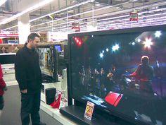 #Huge Plasma TV