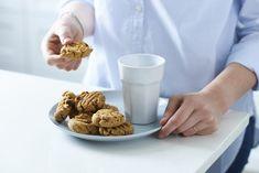 Goodness-Only Peanut Butter Choc Chip Cookies - Sarah Graham Food Gluten Free Treats, Gluten Free Baking, Graham Recipe, Sarah Graham, Dark Chocolate Chips, Peanut Butter Cookies, No Bake Desserts, Good Food, Fun Food
