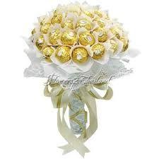 ferrero rocher bouquet - Google Search