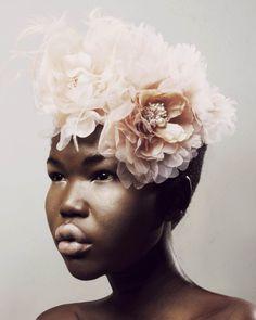 Beautiful African Model