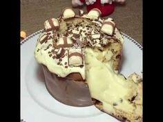 Chocotone trufado de Leite Ninho (Ótima opção para vendas) - YouTube Chocolate Sweets, Chocolate Lovers, Chocolates, Just Desserts, Coco, Holiday Recipes, Bakery, Food And Drink, Pudding