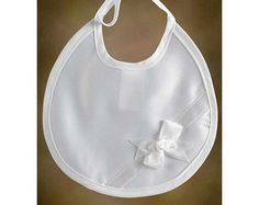 Satin Bow Bib